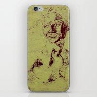 Not A David Bust Print iPhone & iPod Skin