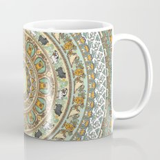 Pug Yoga Medallion Mug