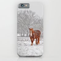 iPhone & iPod Case featuring It's cold and lonely by Pirmin Nohr