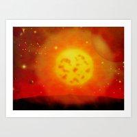 ALIEN SUN - 194 Art Print