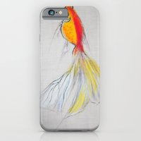 iPhone & iPod Case featuring Goldfish Pond (close up#1) by Ming Myaskovsky