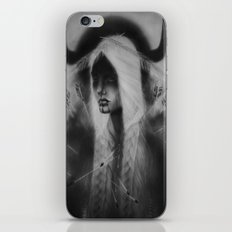 Pine Leaf/Woman Chief/Two Spirit iPhone & iPod Skin