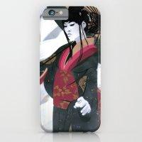 Japanese Woman Street Ar… iPhone 6 Slim Case