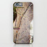 Dew Drops On A Fallen Le… iPhone 6 Slim Case