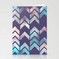 Chevron Dream 2 (Plum) Stationery Cards