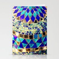 Mosaic And Beads [photog… Stationery Cards