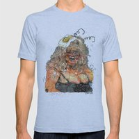 Edith Massey the Egg Lady Mens Fitted Tee Athletic Blue SMALL