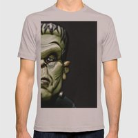 Frankenstein Mens Fitted Tee Cinder SMALL
