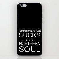 Contemporary R&B Sucks iPhone & iPod Skin