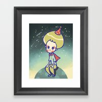 Find My Place Framed Art Print