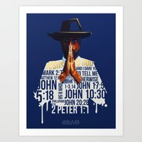Preston Perry Jesus is God Art Print