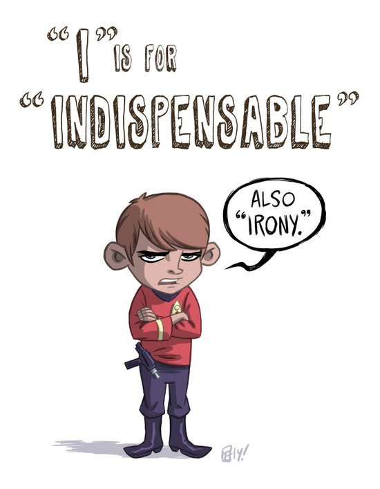 """""""I"""" Is For """"Indispensable"""" Art Print"""