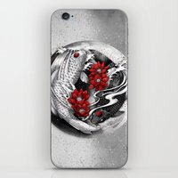 Balance [Yin-yang Koi] iPhone & iPod Skin