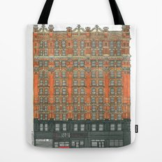 Don't Forget to Look Up: Potter Building Tote Bag