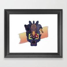 Hotline Miami 2: The Fan… Framed Art Print