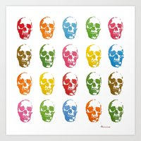 Colortherapy Art Print