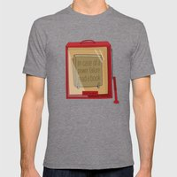 In Case Of A Power Failu… Mens Fitted Tee Tri-Grey SMALL