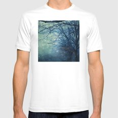 Silent Night  Mens Fitted Tee SMALL White