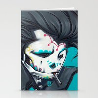 SLICK paint Stationery Cards