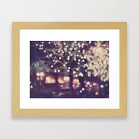 Christmas Night Framed Art Print
