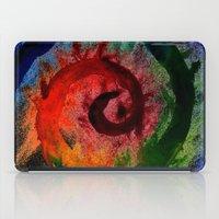 Rainbow Spiral iPad Case