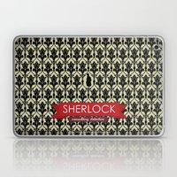 Sherlock Poster 2 Laptop & iPad Skin