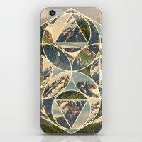 Geometric mountains 1 iPhone & iPod Skin