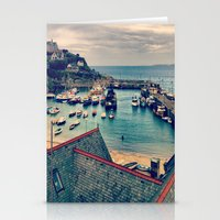 Grey Clouds Above The Fe… Stationery Cards