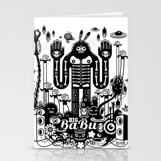 Big Babu Stationery Card