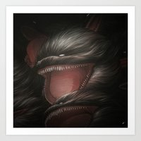 BallWars IV. Art Print