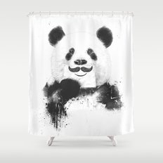 Funny Panda Shower Curtain