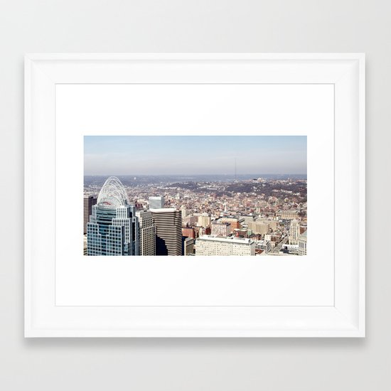 Background Noise Framed Art Print