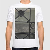 Fence Mens Fitted Tee Ash Grey SMALL