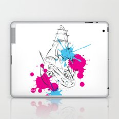 out boat Laptop & iPad Skin