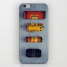 Old Film Rolls iPhone & iPod Skin