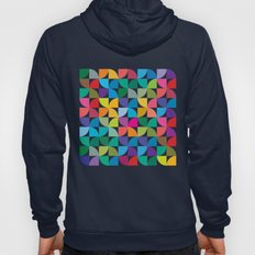 Geometrical work - Colours rotation Hoody