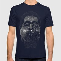 Dizzy Gillespie Mens Fitted Tee Navy SMALL