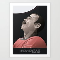 Chris Hadfield - Start Sculpting Art Print