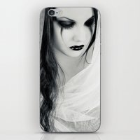 Lonely Pierrot iPhone & iPod Skin