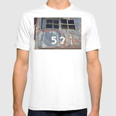 Iron Horse Mens Fitted Tee SMALL White