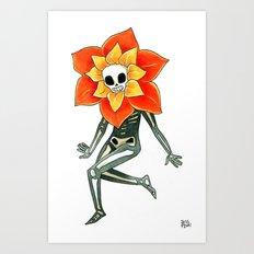 Caléndula Art Print