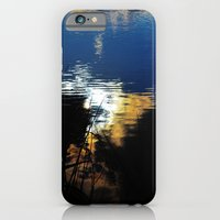 iPhone & iPod Case featuring Morning Pond by Darien Hoogacker