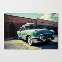 The Buick (brown Edition… Canvas Print