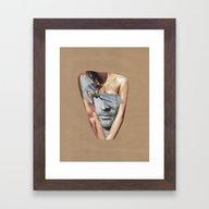Let The Black And White … Framed Art Print