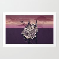 Hogwarts series (year 5: the Order of the Phoenix) Art Print