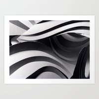 Paper Sculpture #5 Art Print