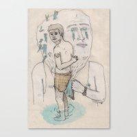 Toalla Canvas Print