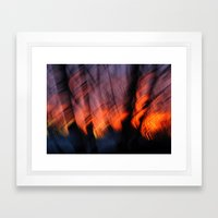 Light Up Your Skies Framed Art Print