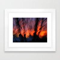 Light Up Your Skies Framed Art Print