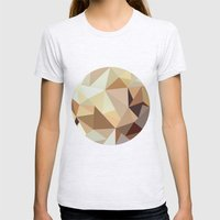 Pattern Womens Fitted Tee Ash Grey SMALL